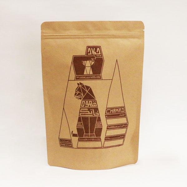 دانه قهوه جوپار مشکی 500 گرمی