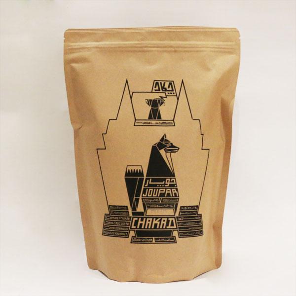 دانه قهوه جوپار مشکی یک کیلویی