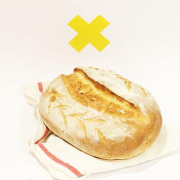 نان روستایی خمیر ترش